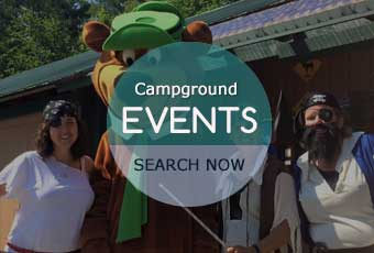 maine campgrounds events calendar