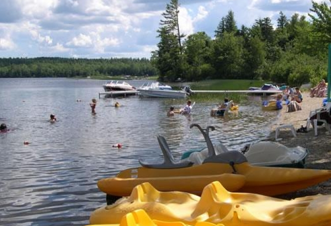 Bar Harbor Camping Resorts Patten Pond Campmaine