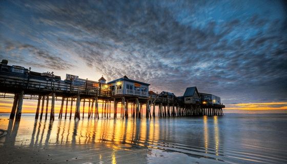Old Orchard Beach Pier Campmaine