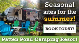 Bar Harbor Camping Resorts Patten Pond